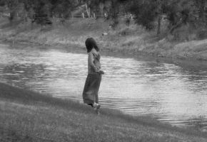 girl by the river by far-away-near