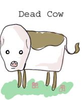 Dead Cow by kangel