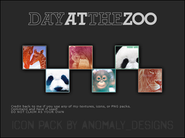 Day At The Zoo Icon Pack by britsnpieces