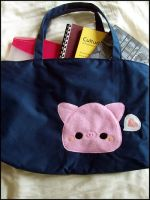 Pudding Pig Tote Bag by quacked