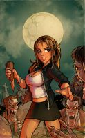 Buffy the Vampire Slayer by blitzcadet