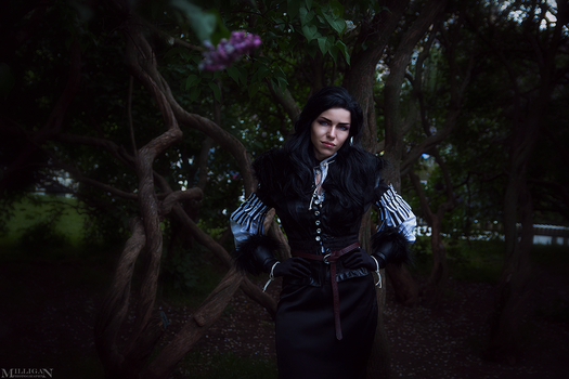 Yennefer - The Witcher Wild Hunt by TophWei