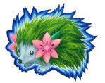 Realistic Pokemon: Shaymin the hedgehog by Demure-Hermit