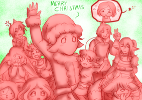 Merry Christmas 2013 by Navarag