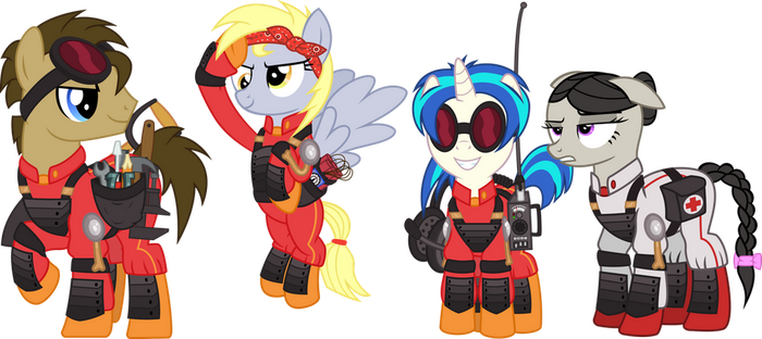 My Little Combat Engineers by cheezedoodle96