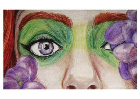 Violet Eyes by NatalieLizzie