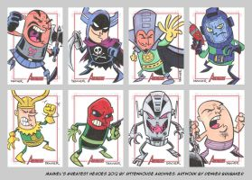 MGH2012 sketchcards 12 by thecheckeredman