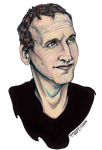Christopher Eccleston by HanBO-Hobbit