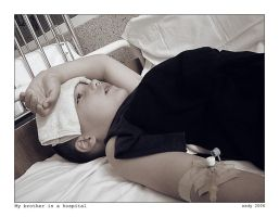 My brother in a hospital by ESDY