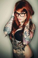 tatoo girl 4 by FalstaffPL