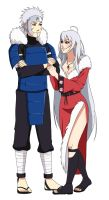 CM: Tobirama and Gin by Chloeeh