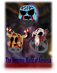 The Amazing World of Amnesia: The Suitors by JayZeeTee16