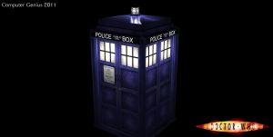 TARDIS by ComputerGenius