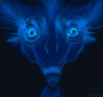 Blue monster by Abydell
