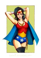 Wonder Woman Again by FrauV8