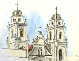 Cathedral sketch by ecobiotic