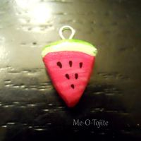 Watermelon Charm by Me-O-Tojite