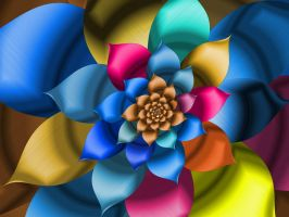 Colored Boquet by pennys-designs