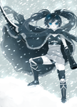 Snow Rock Shooter by goldfishu