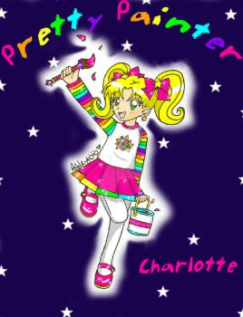 Pretty Painter Charlotte by Magical-Mama