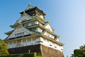 Osaka Castle by mrashiraki