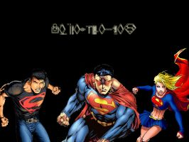 Kryptonians by ZiggoTheAlien