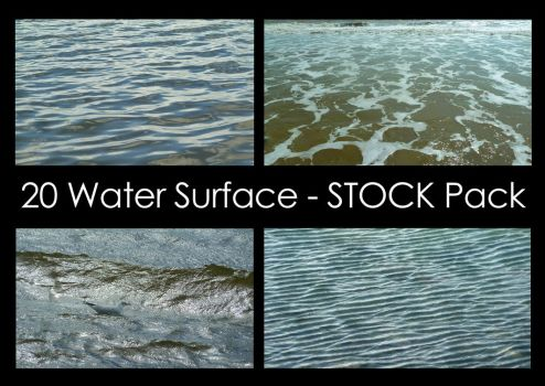Water Surface Stock Pack by LeeStock