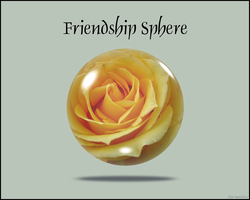 Friendship Sphere by KenSaunders