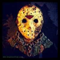 Jason Voorhees Fridge Magnet by JasonMcKittrick