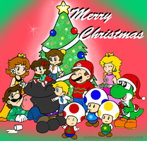 merry christmas 09 by Nintendrawer