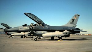 308 TFS F-16B Block 15 by F16CrewChief