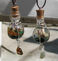 Magic Vial Set - Gemini Taurus by Izile