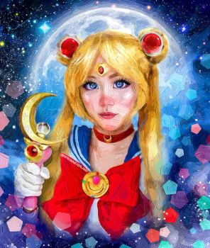 Sailor Moon by fromNeverlend
