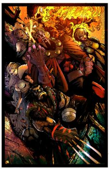 Age Of Apocalypse by puzzlepalette
