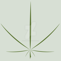 simple pot leaf by sewer-pancake