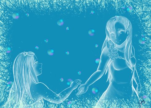 Pride Month and DeviantArt| BLUE by Selanime