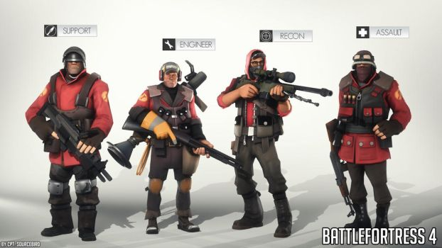 Battlefortress 4: Classes by Cpt-Sourcebird
