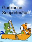 Gadxarine Stamp by DarkCatTheKhajjit
