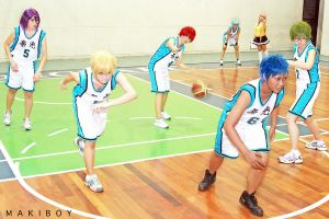 Kiseki no Sedai: Offense! by krishinya