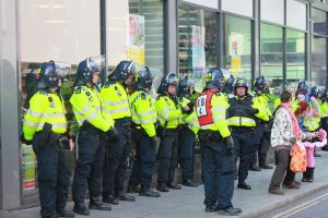 Tesco Riot Police by eonalpha