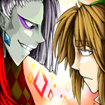 Ghirahim and Link lol by Zimandchowder4evr