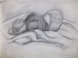 figure drawing by DasherDoodle
