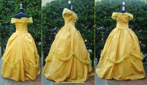 Disney Masquerade's Belle - Beauty and the Beast by giusynuno