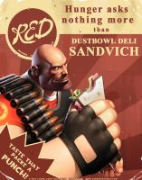TF2 Heavy by JayAxer