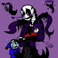 W.D. Gaster (Undertale: Gaster, Sans and Papyrus) by YaoiLover113