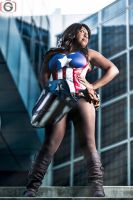 Cosplay - Captain America by XxSaraiyu-StockxX