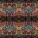 Complex geometric pattern on a scarf... by cristy120377