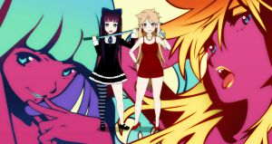 Panty and Stocking - Kisekae version by XxChellie-DawgxX