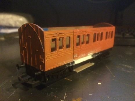 hornby 4 wheel coach extention project by GBHtrain
