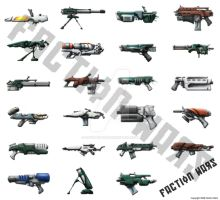 FW-Weapons Artwork by StugMeister